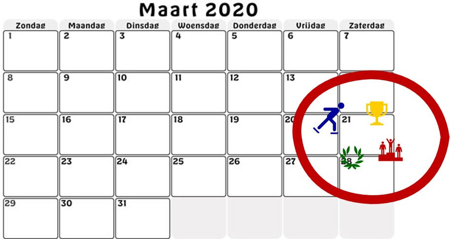 Clubkampioenschappen STG Exerceo - 21 maart 2020