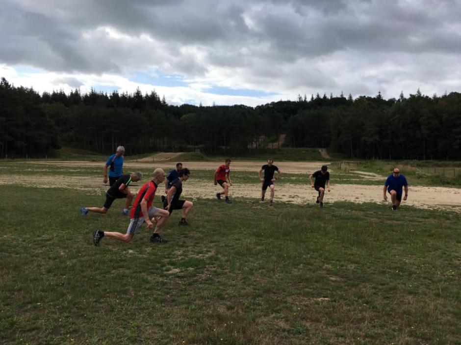 Training op Kwintelooyen